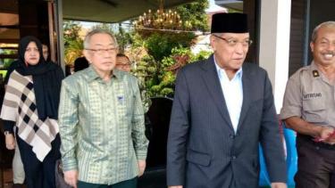 Ketua Umum PBNU Said Aqil Siradj di Surabaya, Jawa Timur.