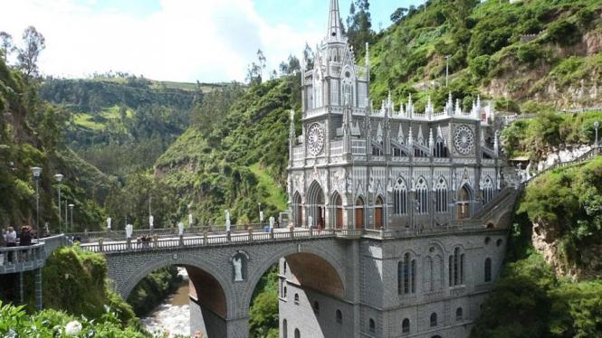 Gereja unik di kolombia