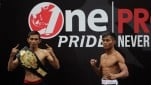 Timbang Badan One Pride Fight Night 28, Ade Permana dan  Alin Anggrianto
