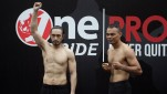 Timbang Badan One Pride Fight Night 28, Andicka Mamesah VS Natalex Munster