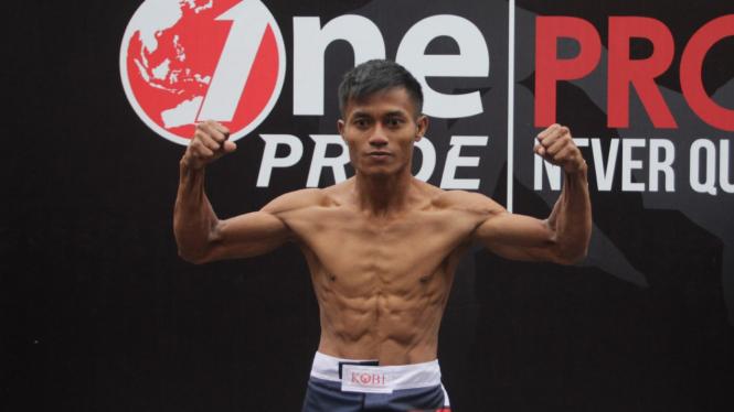 Timbang Badan One Pride Fight Night 28, Alin Anggrianto