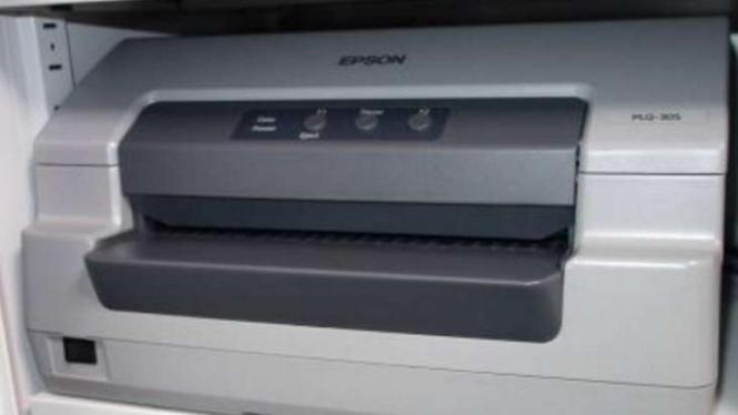 Printer passbook Epson