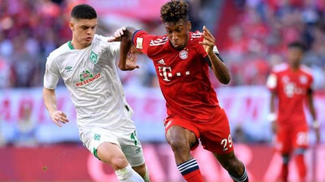 Duel Bayern Munich vs Werder Bremen