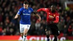 Pertandingan Premier League antara Manchester United vs Everton