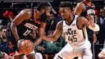 Pertandingan Playoff NBA antara Houston Rockets melawan Utah Jazz
