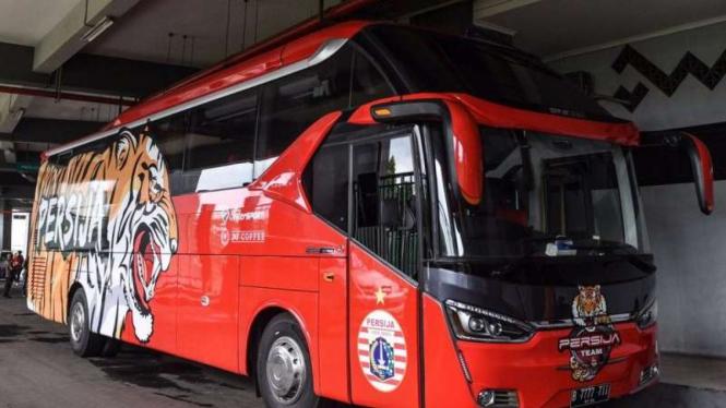 Bus lama Persija Jakarta