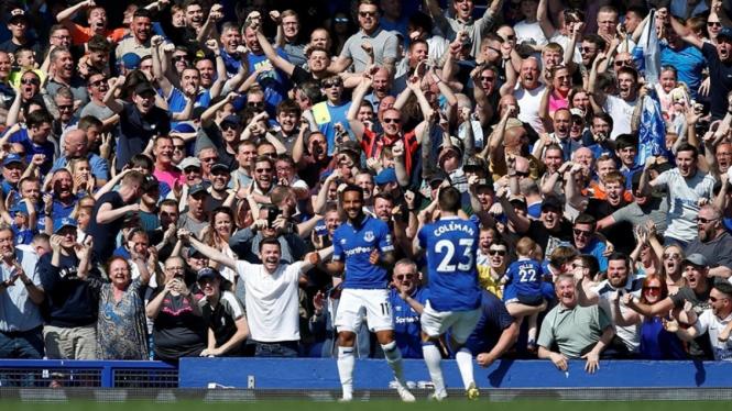 Laga Premier League Everton vs Manchester United