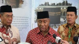 Ketua Komisi VIII DPR Ali Taher di Asrama Haji Jakarta