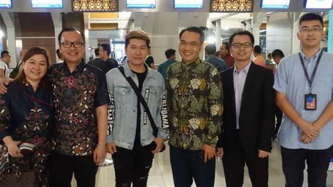 Produser dan sutradara film, Marcos Tjung sambangi China