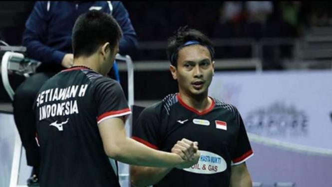 Mohammad Ahsan/Hendra Setiawan.