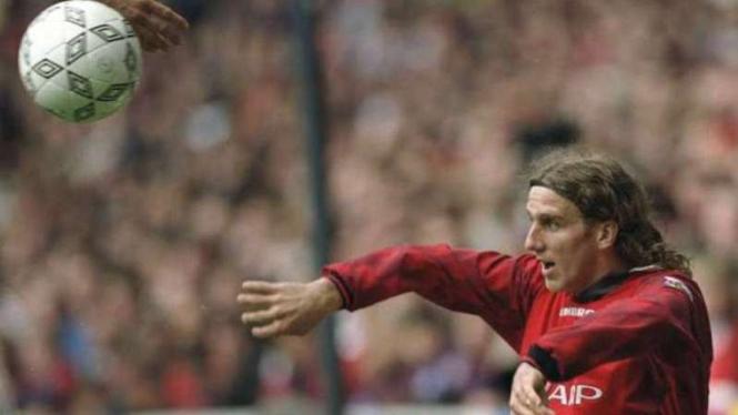 Mantan Pemain Manchester United, Karel Poborsky.
