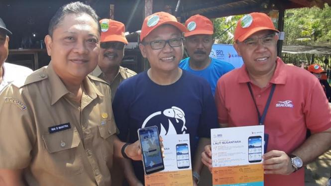 XL Axiata menyemarakkan Hari Bumi dengan edukasi aplikasi ke nelayan