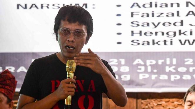 Politikus PDIP sekaligus aktivis 1998, Adian Napitupulu