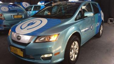 Mobil listrik BYD e6