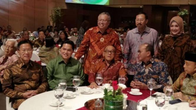 ARB hadiri rembuk pengusaha Kadin di Jakarta