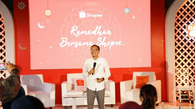 Rizky Yanuar, Country Brand Manager Shopee.