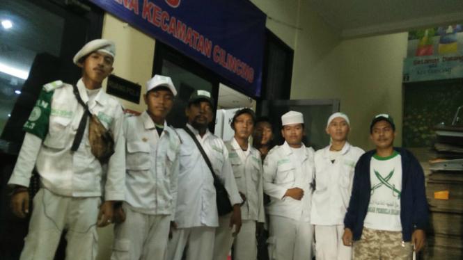 Relawan FPI yang bersedia bantu jaga form C1 Pilpres 2019