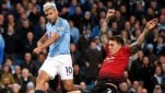 Pertandingan Premier League antara Manchester City vs Manchester United