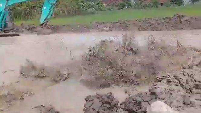 Semburan lumpur di Blora