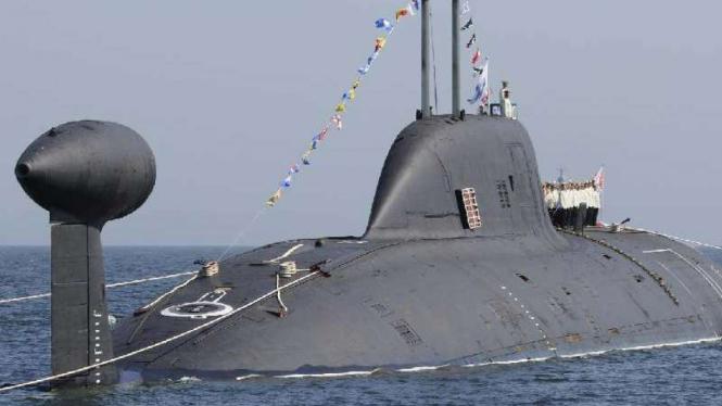 Kapal selam Rusia.