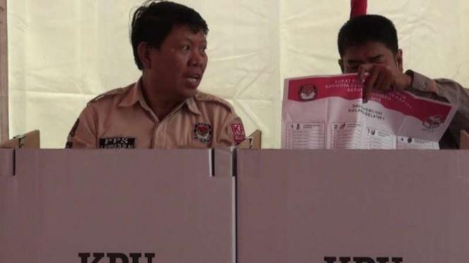 17 TPS di Kota Makassar lakukan pemungutan suara ulang