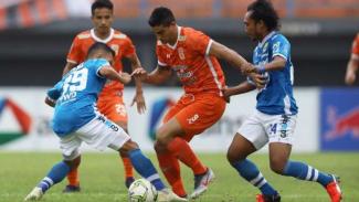 Pertandingan Borneo FC vs Persib Bandung