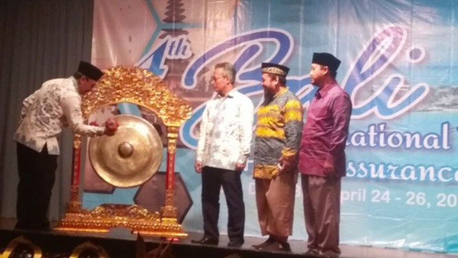 Pembukaan Bali International Halal Training on Halal Assurance System (HAS)