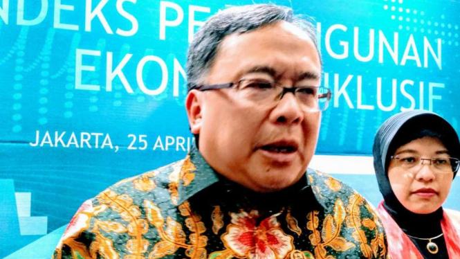 Menteri Perencanaan Pembangunan Nasional/Kepala Bappenas Bambang Brodjonegoro.