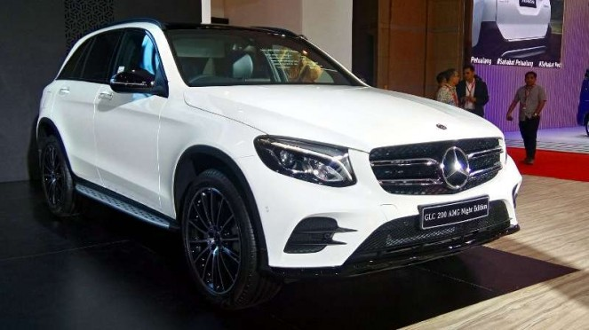 Mercedes-Benz GLC 200 AMG Night Edition