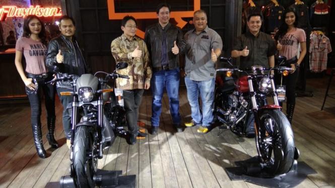 Dua motor baru Harley-Davidson