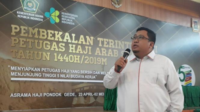 Staf Khusus Menteri Agama, Hadi Rahman