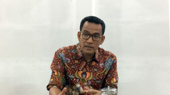 Pakar Hukum Tata Negara, Refly Harun saat berkunjung ke kantor VIVA di Jakarta. (Foto ilustrasi)