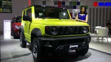Suzuki Jimny dipamerkan di IIMS 2019