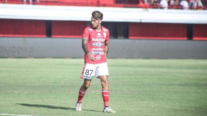 Pemain Bali United, Stefano Lilipaly