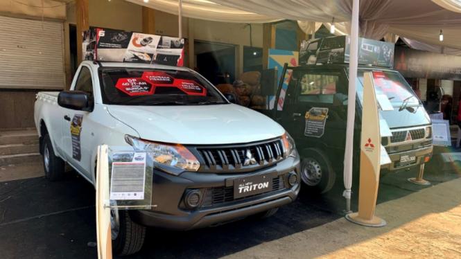 'Grebek Pasar' di Pasar Jagasatru, Cirebon oleh Mitsubishi Motors Corporation.