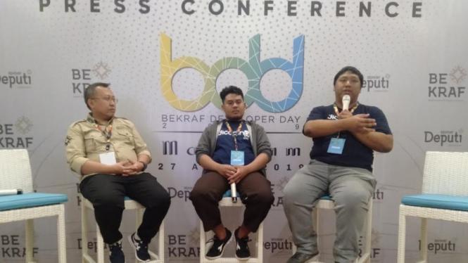 Badan Ekonomi Kreatif Indonesia (BeKraf) Developer Day Mataram