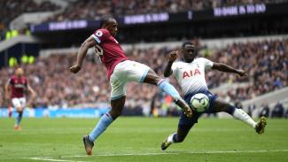 Duel Tottenham vs West Ham dalam lanjutan Premier League.