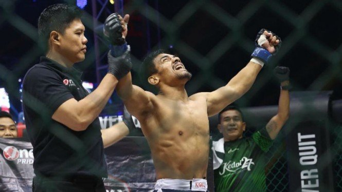 Petarung MMA Banjarmasin, Agus Setiabudi