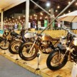 Motor custom di Indonesian Custombike Expo & Championship di IIMS 2019