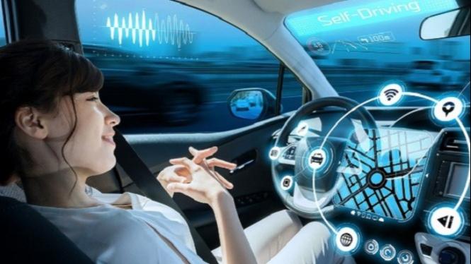 Kendaraan masa depan.