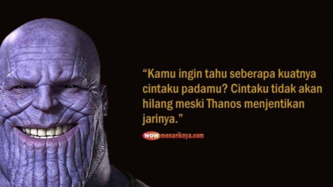 Meme jentikan jari Thanos.