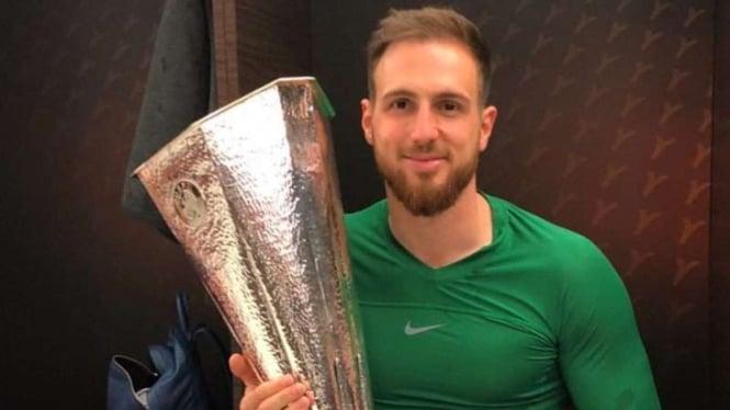 Penjaga gawang Atletico Madrid, Jan Oblak
