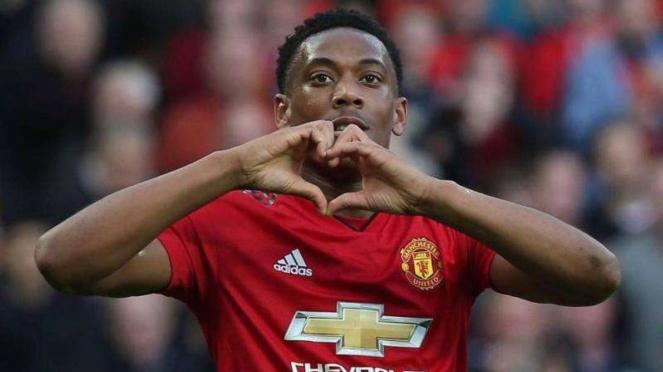 Penyerang Manchester United, Anthony Martial
