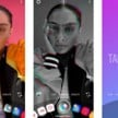 Create mode Instagram Stories