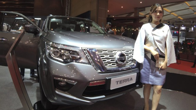 Nissan Terra di IIMS 2019.