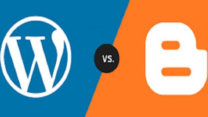 Wordpress vs Blogger.