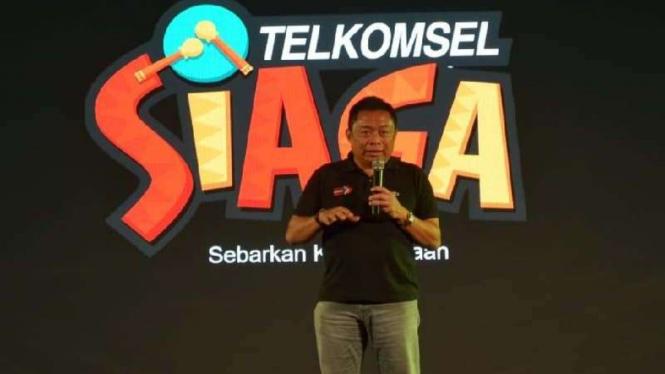 Mantan Direktur Utama Telkomsel, Ririek Adriansyah, kini menjabat sebagai direktur utama PT Telekomunikasi Indonesia (Persero) Tbk.