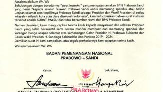 Klarifikasi agar tak percaya hoax perintah pemasangan spanduk oleh BPN