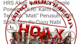Hoax Instruksi Tembak Mati Pengacau NKRI