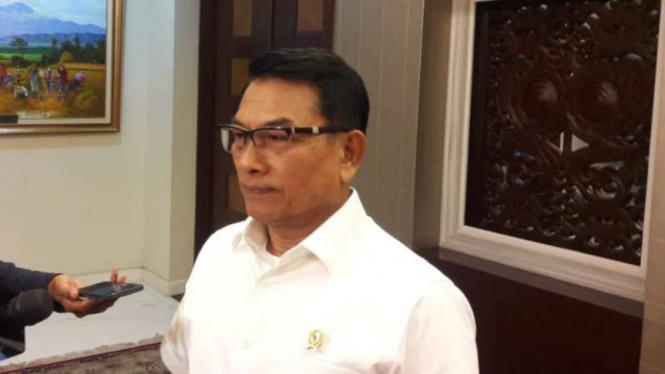 Kepala Staf Presiden Jenderal TNI (Purn) Moeldoko.